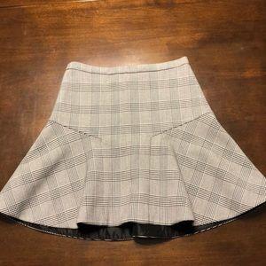 J Crew Plaid Skirt size 2